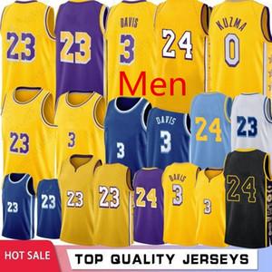 Men Youth Los Αngeles LΑkers Jersey 23 James 4 Caruso 0 Kuzma 9 Rondo Kobe BryΑnt 3 Davis 88 Morris NBΑ Jersey