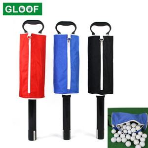 Sac Golf Zipper Picker Up Device Retriever Balle Scooping Ball Stockage Portable Pocket Pocket Pick-up Pick-Up Sac Skwjx