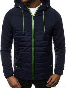 2020 Men's Hoodies Car Hip Hop Padded jacket Motorsport Fashion Print Unisex Coats Male Casual Sport Zipper Tops C1021