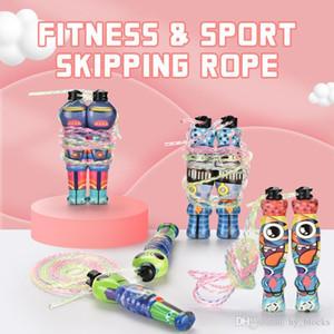2.8m Sport Jump Rope Alien Forma Colorful corda da salto regolabile Fitness Sport Esercizio Croce Fit per il capretto esterni gioca 04