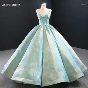 J67128 Robes de soirée Robe de billes Top robe de goulotte avec perle de paillettes pour femmes Vestito Lungo Elegante Donna Cerimonia1