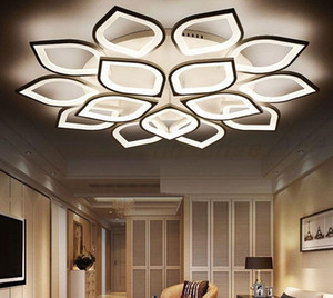 Modern New Acrylic Modern LED Ceiling Lights for Living room Bedroom Plafond LED Home Lighting Ceiling lamp for Bedroom Free Shipping