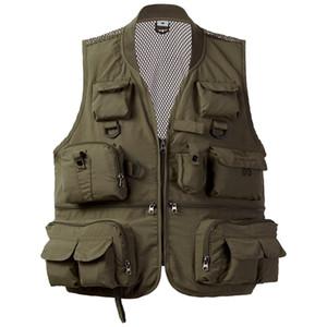 BassDash Versatile V1 para hombre con malla con la protección de la utilidad para la pesca y otras actividades al aire libre o ropa casual y201123