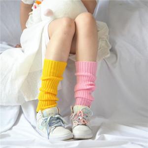 Japonya Anime JK Kız Gevşek Çorap Hosiery Şeker Renk Lolita Cosplay Kadınlar Slouch Çorap