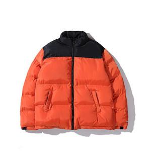 Modedesigner Mens Jacke Daunenmantel Winter Warm Windjacke Jacken Latters Stickerei Muster Reißverschlüsse Tops Mantel