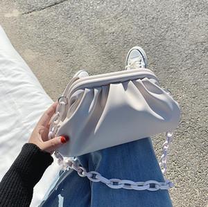 SALE !! Elegant chain messenger bag messenger handbag lady shoulder bag female new luxury designer handbag high quality lady messenger bag