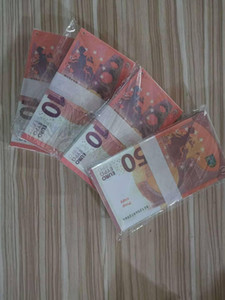 Bar Film Props Coin Television Practice Toy Euro Prop And Fake 500 Money Banknote Shooting Game Token063 Xptmm