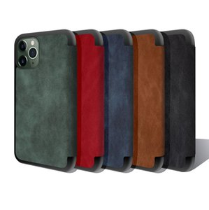 Premium Wallet Magnetic PU Leather Book Case for iPhone 12 Mini 11 Pro XS Max XR 7 8 Plus Samsung Note20 S20 Ultra
