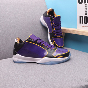 Zoom 5 protro caos mambas zk5 zapatos de hombres púrpura gran escenario desfile preludio 5 v infantiles entrenadores deporte deporte deporte deportes
