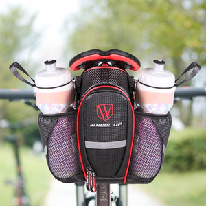 25L Waterproof Cycling Bag Bike Rear Seat Trunk Bag Outdoor Sports Pouch Rack Panniers Shoulder Handbag Reflective Rear Bag