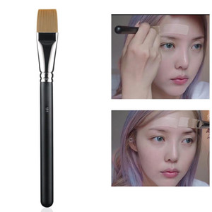 Cosmetic 191 Flat Square Foundation Brush Liquid Cream Mask Paint Brush for Make Up Blender Tool