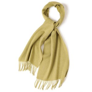 Luxury-Women's scarf winter design, pure wool, warm, high-end quality, tassels are soft and comfortable Scarves for ladies