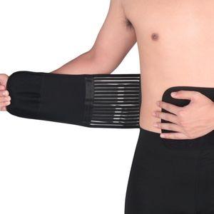 Lumbar Waist Support Belt Strong Lower Back Brace Corset Belt Waist Trainer Sweat Slim For Sports Pain Relief
