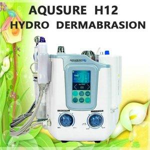 3 in 1 Hydro Mikrodermabrazyon Hydra Yüz Derin Temizleme Bio Mikro Akdeniz Yüz Germe Cilt Sıkma Tedavisi Spa Güzellik Makinesi