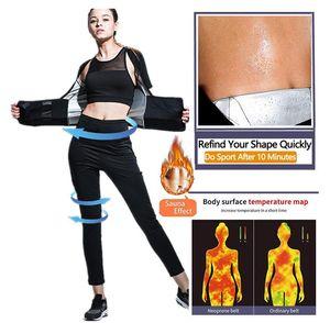 Banque de Sauna Sweat Support Yoga Support Taille haute Fitness Pantalon Réglable Abdomen Sweat Shirt Ceinture en plastique pour sceller la taille de la taille