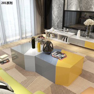 Minimalist Modern living room furniture set mutifunction free combination coffee tea table Flexible TV stand cabinet