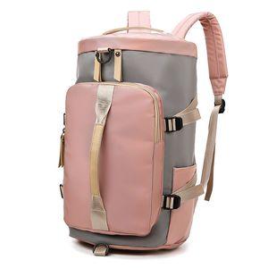 Wholesale Shoe Multifunctional Single Shoulder Backpack Female Large Capacity Leisure Travel Handbag Outdoor Sports Fitness Bag