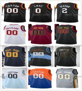 NCAA 2020-21 New City Black Matthew 18 Dealavedova Dante 1 Exum DEAN 32 WADE CEDI 16 OSMAN THON 14 Maker Kevin 4 Porter Jr. Jerseys