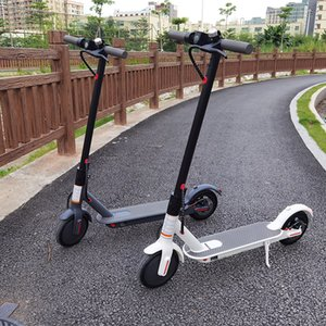 EU NO TAX Foldable Smart Scooter Skateboard 45-50km Strong Range 36v 12.5ah HT-T4 Max 10 inch HT-T4 Electric Scooter 8.5 inch