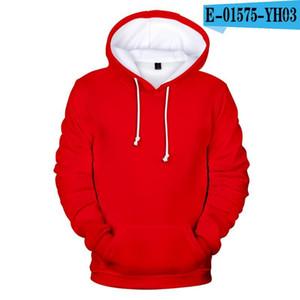 fashion Men women Hoodies sweatshirts Autumn Winter long sleeve Pullovers Custom Hoodies Solid Color Hooded 3D couples Tops1