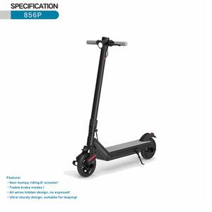 2021 Scooter électrique adulte, pliable et portable, plusieurs brevets de freinage, absorption des chocs et antidéflagrants, sans inflation, moteur 500W