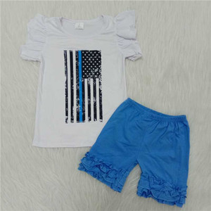 The world between us kids clothes new designer clothes t-shirt men's toddler boy baby clothes blue shorts suit