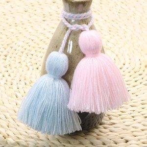 4pcs Charm Fat Tassel Fringe Pendentif Corde DIY Home Rideau Textile Artisanat Accessoires suspendus Tassels Multicolore Frange Trim H JLLGVP