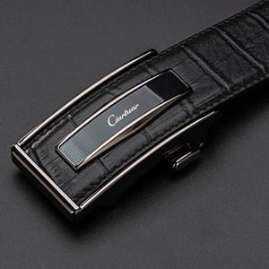 Ciartuar Leather Belt Automatic Buckle Belts for Men Genuine Leather Waist Mens Luxury Designer Belt High Quality Fashion Strap J1209