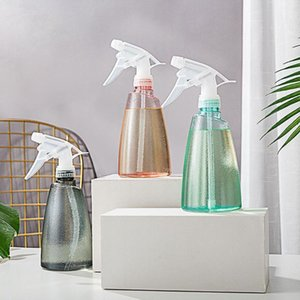 1pcs 500ml Transparent Spray Disinfection Watering Sprayer Pinch Pressure Can Bottle Hand Spray Househ Bottle Air Gardening K7Q7
