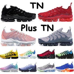 TN Artı Büyük Boy 13 TN Kadın Erkek Koşu Ayakkabıları Yüksek Kalite Eğitmenler Spor Sneakers Pembe Siyah Üç Kişilik Beyaz Hornetler Aktif Koşucular Ayakkabı