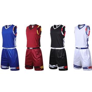 2020 Men College Basketball Training Jerseys Youth Sports Uniform Cheap Basketball T-Shirt Pants Wholesale Wear Custom Free Shipping