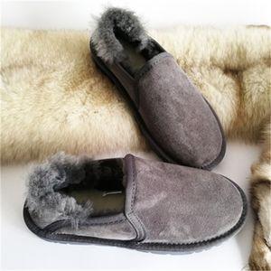 Горячие продажи SWYIVY голеностопного Шерсть Мех женщина скольжения на Женский снега сапоги теплые ботинки из натуральной кожи Удобная зима Snowboots
