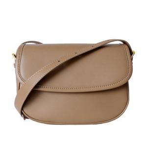 New Women's One-shoulder Messenger Bag Fashion Real Leather Handbag