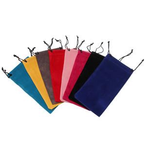 Sunglasses Glasses Bag Mesh Plaid Cloth Sunglasses Bag Pouch Drawstring Eyeglasses Pouch Fashion Carry Bag Accessories NWB3239