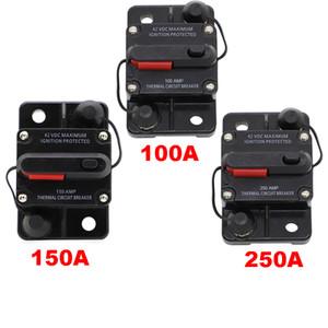 150A AMP 회로 차단기 듀얼 배터리 수동 재설정 IP67 / 증거 12V 24 볼트 퓨즈 송료 무료 추적 포함