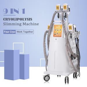 Высокий конец Cryolipolysis Coolsculpting машина Zeltiq Жир Замораживание РФ Вакуумная похудения Lipo лазер против целлюлита кавитация Cryo машины