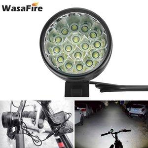 MTB Bicycle Front Lights Farol Bike Light 40000LM 16 XML T6 LED Cycling Head Lamp 18650 Battery Running Headlight luz bicicleta 201103