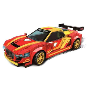 2021 City Creator Technic Super Racers Speed Champions Supercar Racing Car Model Building Blocks Bricks Collectible Kids Toys X0102