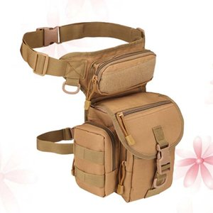 1PC Portable Multifunctional Durable Tackle Bag Handbag Sided Waist Pack for Hiking Fishing