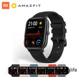 XMI 글로벌 버전 AmazFit GTS 스마트 시계 5ATM 방수 수영 Smartwatch 14 일 배터리 음악 제어 안드로이드 FY8173