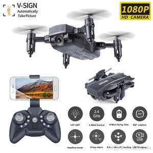 M9 Mini FPV RC HD Toys 1080P Wifi Helicopter Control Drone Camera Hold Foldable Dron Remoto Quadcopter Altitude For Kids Rrxcf