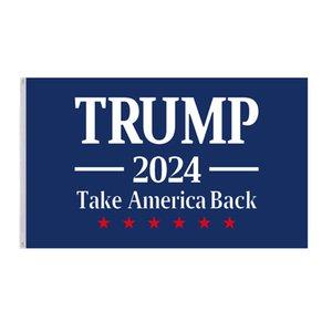 90*150cm Trump Flag 2024 Election Flag Banner Donald Trump Keep America Great Again 5 Styles Polyester Flag EEF4961