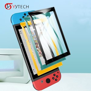 SYYTECH Game Console Glass Screen Protector for Nintendo Switch Lite or Switch Protection Glass Film Game Accessories
