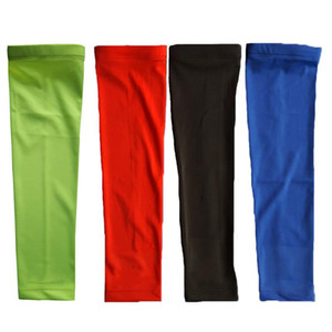 Sport Lengthen Arm Sleeves Basketball Compression Cycling Arm Bracer Warmers Cover Breathable Armguards Men Sports Safety
