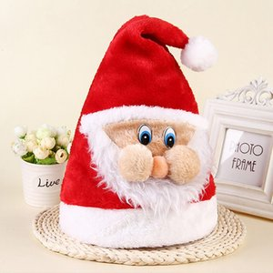 Santa Claus Hats Christmas Caps Decor Festival Costume Children Hats Party Snowman Xmas Gifts New Year Elf Christmas Decoration