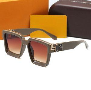 Di alta qualità Brand Mens Sunglasses Designer Glasses Eyewear Womens Sunglasses Designer Brand Designer Occhiali da sole UV400 Occhiali protettivi con scatole
