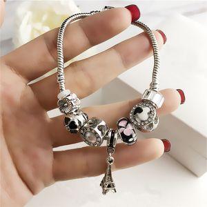 Frauen Mode Armband Designer Luxus Schmuck Armband Perlen Strangs Charme Armbänder Lady Snake Kette Kleid Dracelets Original Geschenkbox