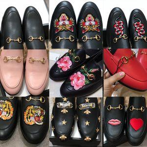 Erkekler Terlik Princetown Kürk Terlik Kürk Katırlar Zincir Bayanlar Rahat Ayakkabılar Kadın Erkek Loafer'lar Terlik Ayakkabı Kürk Slide Sandal Kutusu Ile