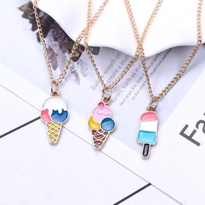 1PCS Cream Style Summer Fashion Anime Necklace Necklaces Cartoon Pendants Jewelry Accessories Girls Lady Gifts New