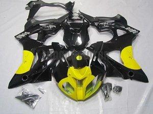 Kit de carénage de moto injection pour brillant noir jaune BMW S1000RR 2009 2011 2011 2012 2013 2014 S1000 RR 09-10-11-12-13-14 Bodywork